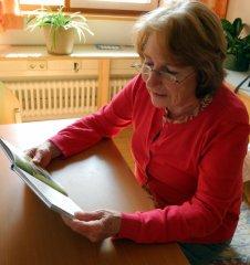 Lesepatin Gisela Dittlmann