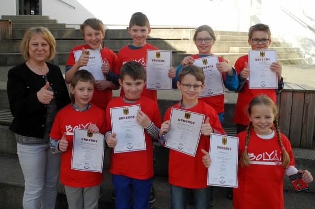 Teamwettbewerb  Mathematik Bolyai
